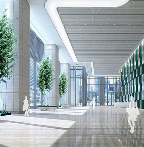 科技生态园项目研发办公楼装修