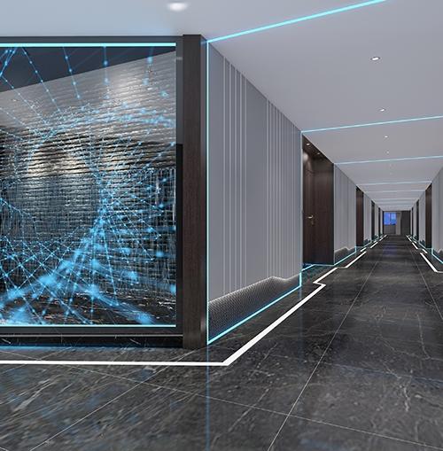 超级大 电竞酒店装修设计
